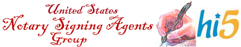 United States notary signing agents group Hi5